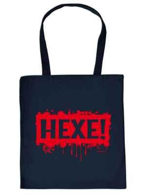 Stofftasche: Hexe!