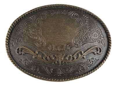 Gürtelschliesse: Ornamente 10,2 x 7,5 cm 40 mm