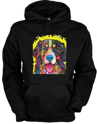 Hoody: Bernese Mountain Dog