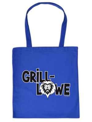 Stofftasche: Grill-Löwe