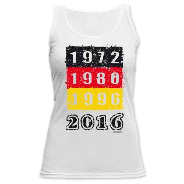 Damen Tanktop 1972 1980 1996 2016