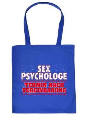 Stofftasche: Sex Psychologe - Termin nach Vereinbarung