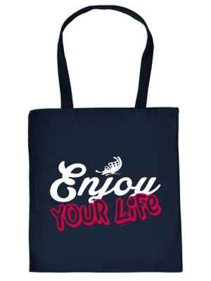 Stofftasche: Enjoy your Life
