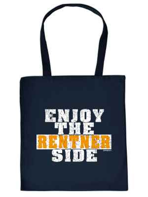 Stofftasche: Enjoy the Rentner Side