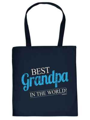 Stofftasche: Best Grandpa in the World!