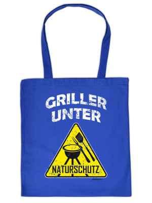 Stofftasche: Griller unter Naturschutz