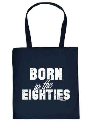 Stofftasche: Born in the Eighties