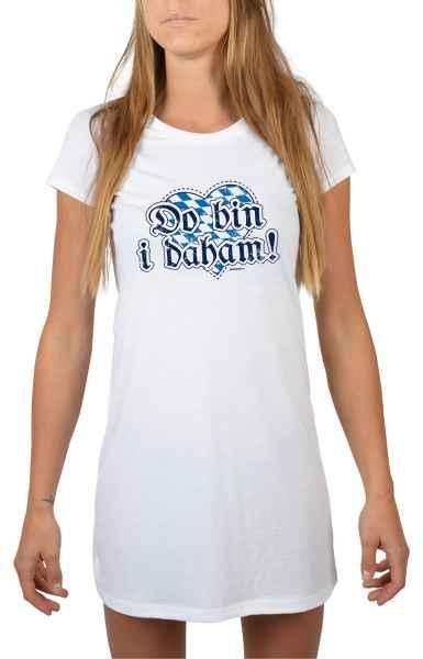 Nachthemd Damen: Do bin i dahoam!