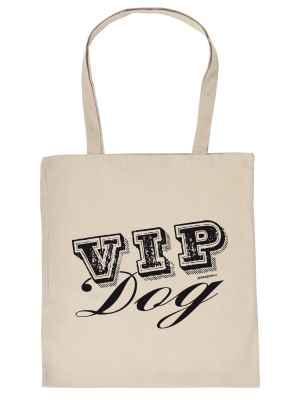 Stofftasche: VIP Dog