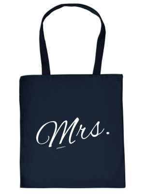 Stofftasche: Mrs.