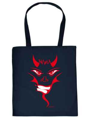 Stofftasche: Teufel