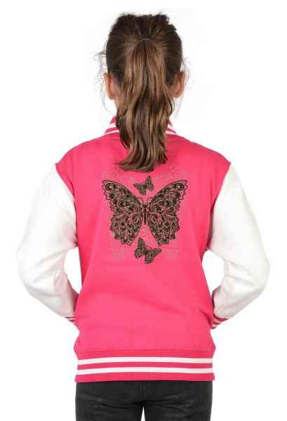 College Jacke Kinder: Schöner Schmetterling